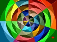 Twisted Circles - Tiny  I hope you are all well, safe and as happy as possible.  Hugs.