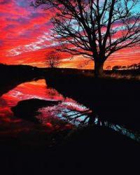 Warm Cumbrian Sunset