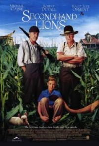 "THEME:  Movies:  Secondhand Lions   One of the best ""feel good"" movies ever, IMOn (more under Sue49 today)"