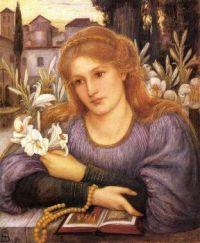 Marie Spartali Stillman, Convent Lily, 1891