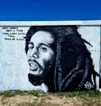 Bob Marley Street Art