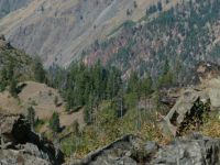 Looking Down into Hells Canyon, Idaho Side
