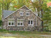 pretty stone house