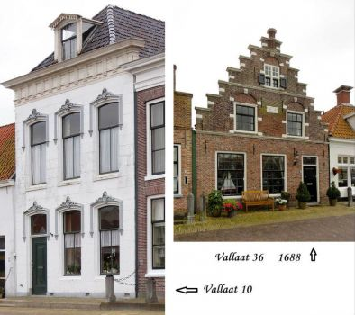 Friesland, Towns and Villages, Makkum. 90 pieces inside.