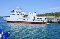 "Ferry ""KNIPAN"" in Kumlinge, Åland Islands"
