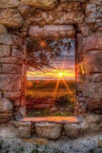 Kansas Homestead sunset