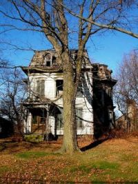 Abandoned Mansion, Milan, OH