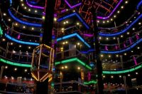 Inside a Carnival Cruise Ship