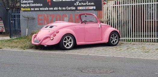 VW Fusca conversivel