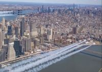 NYC Tribute flyover April 28, 2020