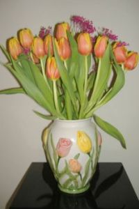 Easter - Spring Tulips - Happy Easter!