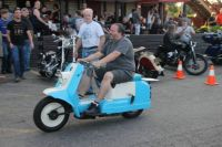 Nice Old 60's Harley Davidson Topper Rolling out