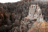 Eltz Castle above the Moselle River in Germany