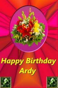 Happy Birthday Ardy (Ringleader)