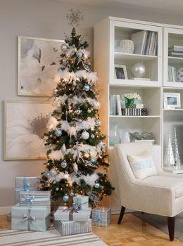 Wishing you all a white Christmas... inside and out :)