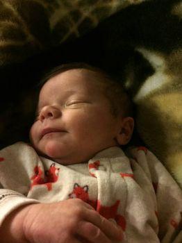 My great grandson born February 20 2016