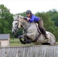 Cross country jumping (eventing)