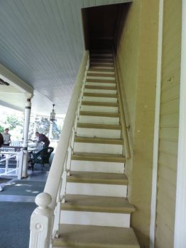 Outside Stairs for the Servants