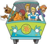 the mystery machine!! xx