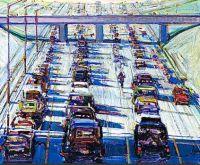 Heavy Traffic, 1988, Wayne Thiebaud