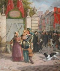 "David Monies, ""Soldier Returning from the First Schleswig War"""