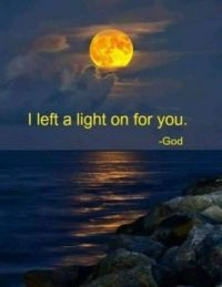 i left a light on for you
