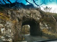 Rock Tunnel Near Killarney Co. Kerry