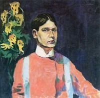 Aristarkh Lentulov (Russian, 1882−1943), Self-Portrait (1913)