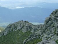 Trail to top of Whiteface Mountain
