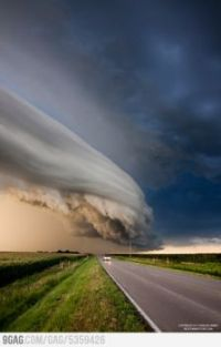 Cloud formation in Nebraska