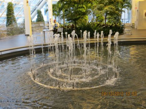 Fountain in Devonian Gardens