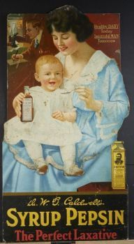 Themes Vintage ads - Syrup Pepsin
