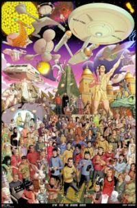 STAR TREK THE ORIGINAL SERIES 50TH ANNIVERSARY POSTER