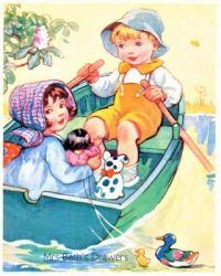 Themes Vintage illustrations/pictures - Mrs Bath`s Drawers