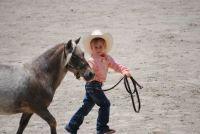 KK & Cowboy's first horse show