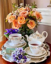Roses And Violets Tea