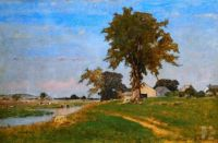 George Inness - Old Elm at Metdfield