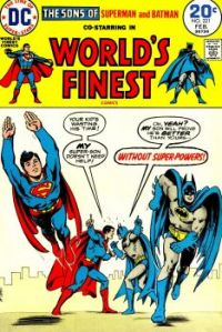 Superman And Batman And The Super-Sons