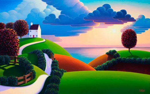 """""""Clouds Over The Sea"""""""