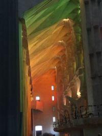 Interior, Sagrada Familla, Barcelona.