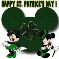 St. Patrick's Day Mickey