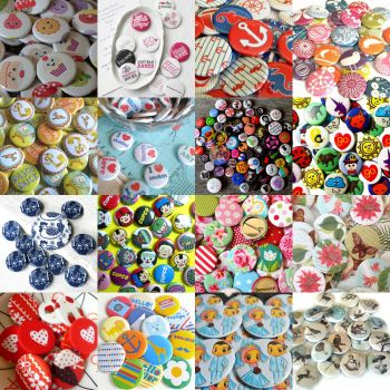 Funky badges