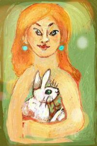 Best friend Bunny ( Digital drawing (ArtRage app)).