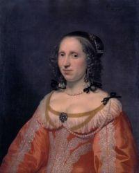1649 Portrait of a Woman by Bartholomeus van der Helst