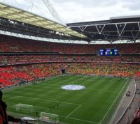 My View Inside Wembley