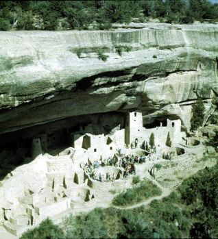 Mesa Verde National Park (Cliff Palace)
