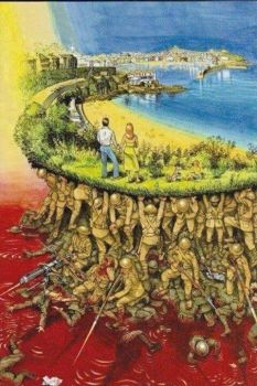 Give thanks to those who served so we can have Thanksgiving