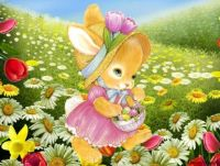PUZZLE - Easter Bunny