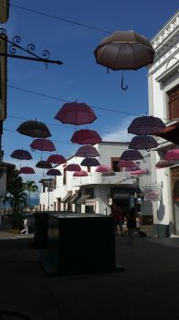 Umbrellas in Puerto Vallarta