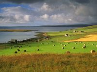 Farmland at Houton, Orkney Islands, Scotland by Patrick Dieudonné